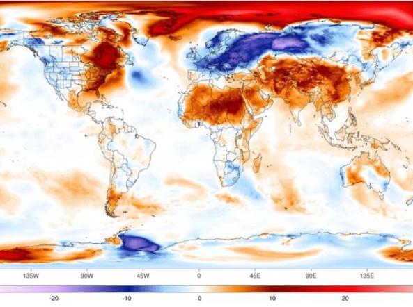 Cercate il caldo? Andate al Polo Nord